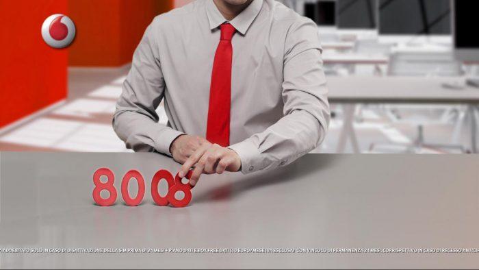Immagine anteprima Vodafone, lavoro realizzato da Cicciotun